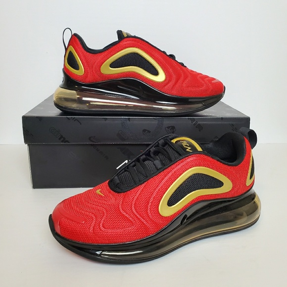 Nike Shoes W Air Max 720 University Red Black Poshmark
